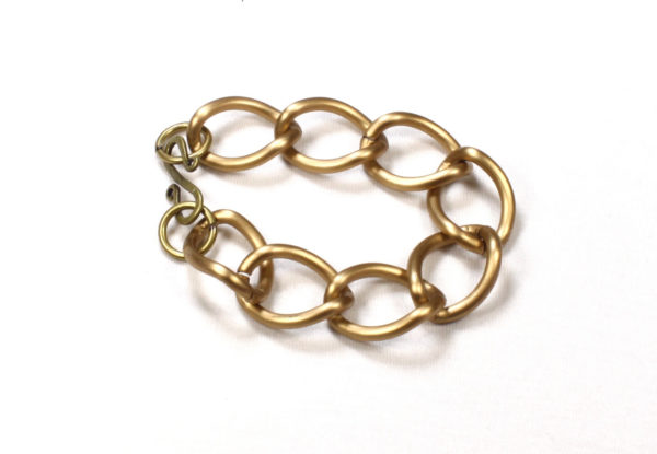 Bracelet - antique gold chain