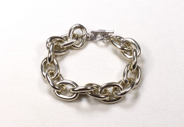 Bracelet - silver-finish chain