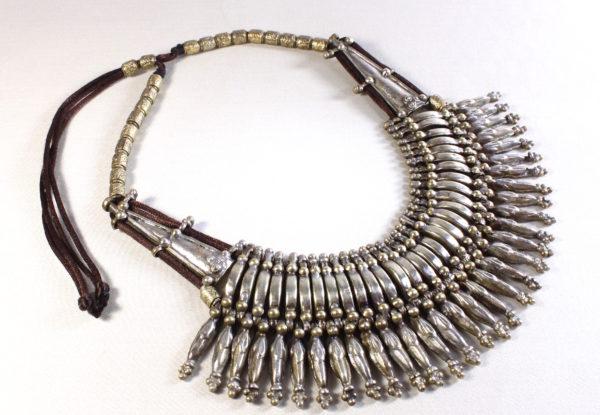Necklace Remodelled Antique Tibetan Brass